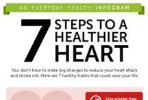 Staying heart healthy / In an avereage lifetime the human heart will beat more than 2.5 billion times without stopping. That's a lot of work! Make sure you're keeping your heart as healthy as it can be.