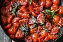 Tasty tomato suppers / Supper, dinner, tea. Whatever you call it add some tomatoes to your meal.