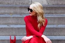 The little red dress / Set the room ablaze with some red hot fashion.