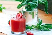Juice those tomatoes / We can't think of anything better than sipping at a cool, refreshing glass of tomato juice on a hot sunny day. These drinks are bursting with health benefits and will keep our bodies healthy all summer long.