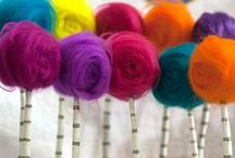 Needle felting / Needle Felt objects