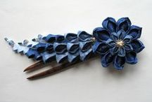 Kanzashi / Japanese crafts