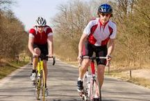 I want to ride my bicycle / Whether you're pedalling away on a mountain bike, exercise bike or a tandem, cycling is a great way to keep heart healthy!