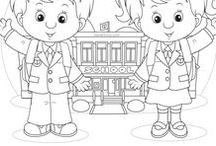 Coloring & Challenges for Kids