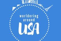 USA Worldering around / Travelling around USA - amazing views, places worth to visit, travel tips
