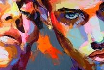 Francoise Nielly - Painter / http://www.francoise-nielly.com/ / by Ugur Akbulut