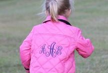 Monogram / Make it personal because your name matters!