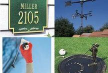 Golf Outdoor Decor