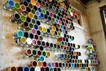 What to do with a paint can? / There are a lot of creative ways to reuse paint cans!