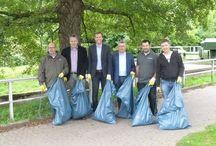 """Plastik - weniger ist Meer / Achtlos weggeworfener Müll ist weltweit ein großes Problem. Die Initiative """"Let's Clean up Europe"""" zielt darauf ab, bestehende Aufräuminitiativen zu verbinden und neue Akteure zum Mitmachen zu bewegen. Zu diesem Zweck wurden jetzt europaweite Abfallsammelaktionen organisiert, deren Ergebnisse später auf www.letscleanupeurope.de veröffentlicht werden. PAUL WOLFF unterstützt Clean-up-MG e.V. sowie die BUND-Müllkampagne """"Plastik – weniger ist Meer"""": http://www.bund.net/themen_und_projekte/meeresschutz/muellkampagne/"""