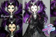 My MH and EAH custom dolls / Custom dolls and accesories which I made :) Hand Painted