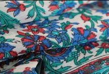 Foulard et écharpe bleu turquoise