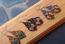 Macrame earrings / Macrame earrings