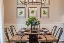 Dining Room Decorating / Ideas and inspiration to organize your home on a budget. Decorate and declutter your dining room on a budget.