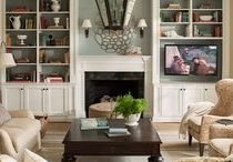 Family Room Organization / Ideas and inspiration to organize your home on a budget. Decorate and declutter your family room on a budget.