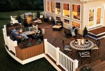Decks and Patios / Ideas and inspiration to organize your home on a budget. Decorate and declutter your deck/patio on a budget.