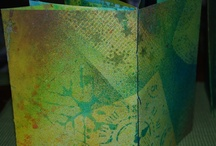 Expressions of Glory - Mixed media art & my studio