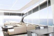 Yacht Design / Design by Ludovica + Roberto Palomba