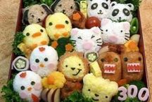 Bento Art! (or any food art) / Bento art just looks so cool! And good!! / by Suzane Nguyen