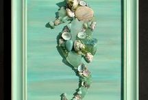 sea shell / Water life,everthing for beach and lake living / by Deb akers