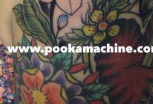 My tattoo work / The work of PookaMachine
