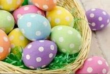 Easter Time / All about Easter décor,baskets,crafts etc. / by Happy Happy
