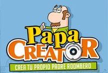 PAPA CREATOR / Campaña para el día del padre en la que podrás crear divertidos padres con una Roomba bajo el brazo