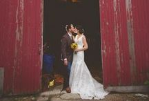 Rustic Wedding Inspiration / Barnyard wedding themes are in high demand! There are so many ways to spin the barnyard theme. So go ahead, a little country never hurt any wedding!