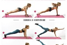 Stay fit: Exercises / Are you ready to get in shape? Here you can check the best exercises for a healthy body - they are easy and fun, most of them you can even try at home! Enjoy!