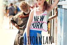Moda Californiana / Diseños que marcan tendencia en L.A. (California). Viste al más puro estilo hollywoodiense.