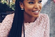 Braids / Sometimes the easiest hairstyle is just braiding it all out. Braids are also some of the most protective hairstyles for women with natural hair.  http://www.ctckmagazine.com