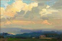 Paintings: Land, Sea & Sky