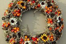 Autumn wreath / Wianek jesienny