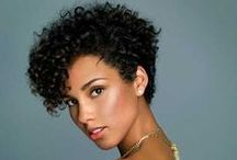 Short Curly Tapered Looks / You have short, curly hair and have no clue how to style it... We feel your pain. On this board, you will find cute cuts and styles for your curly hair that won't make styling it every morning a huge hassle.
