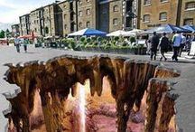 3d street Art / Awesome 3D painting of Street
