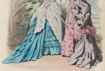 Victorian Fashion illustrations
