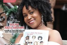 Curls Magazines / May/June 2017 Issues of Curls Magazine for natural hairs, curly hair, dreads, braids, and more.