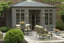 ♡ Garden Rooms, Summer Houses & Orangeries...