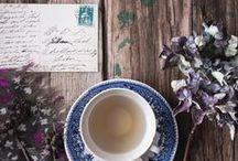 "[ Tea Time ] / Tableau d'ambiance - Moodboard ""Tea Time"""