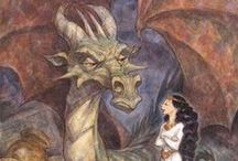 Dragones / Me gustan los dragones. Pero no me gustan todos los dragones. Aquí están los dragones que me gustan.