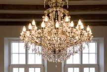 ♡ Chandeliers & Lighting...