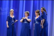 Quartets of Harbor City Music Company! / Our Quartets 1 1  Surely the purest form of barbershop singing, the Quartet, is the ultimate expression of our music. HCMC is delighted to have quite a few competing quartets in our midst.