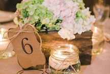 Wedding Theme   Rustic / Pinspiration for a rustic or barn wedding
