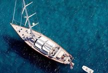 Sailing Superyachts / Sailing Superyachts and their  destinations.