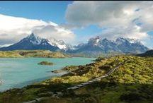 """""""Bienvenido"""" in Patagonien / Geprägt von riesigen Gletschern, atemberaubend schönen Lagunen, wildromantischen Berglandschaften und scheinbar endlosen Ebenen, ist Patagonien die Erfüllung eines jeden Naturfreundes und zählt für viele zu den schönsten Regionen der Erde."""