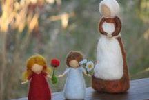 Wichtel, Elfen, Feen, Gnome etc / Zauberhafte Welt