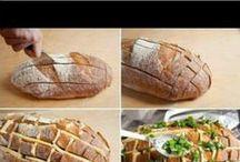 Rezepte - Brot, Teigtaschen, Calzone / gefüllt - gebacken - gebraten - gekocht - überbacken -