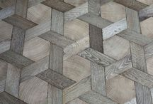 Materials - wood / Wood for floors, walls and ceilings