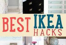 Ikea Hacks / DIY, inspiracje, Before&After meble IKEA
