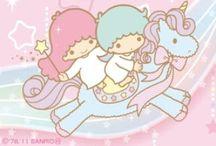 Little twin stars / Kiki and Lala / by Katia Y Toguchi